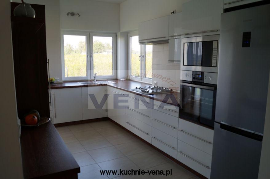 Meble kuchenne Lublin, meble na wymiar Lublin  VENA Meble   -> Dluga Wąska Kuchnia W Bloku