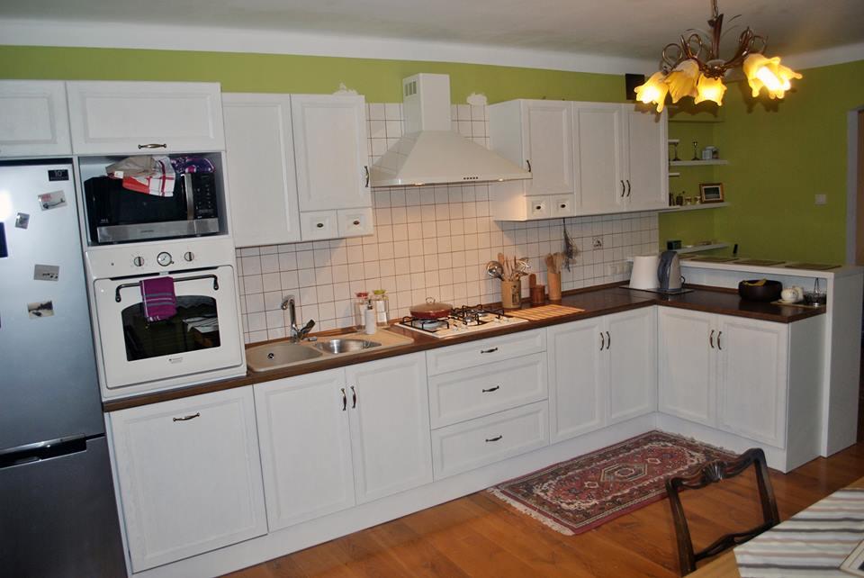 Biała klasyczna kuchnia od Meble Format Lublin -> Kuchnia Meble Lublin