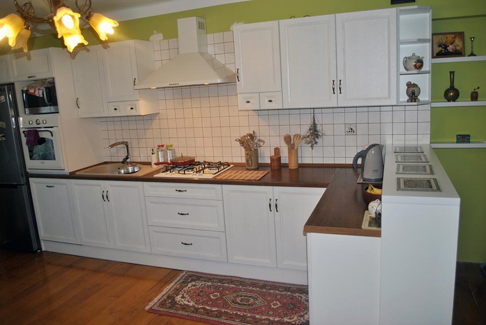 Biała klasyczna kuchnia od Meble Format Lublin -> Kuchnia Meble Lubin