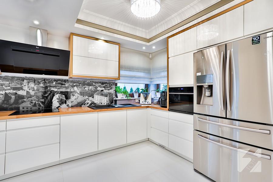 Kuchnia Na Wymiar Z Panorama Twojego Miasta Od 3top Meble