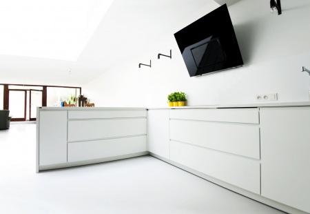 Pomysł na minimalistyczną kuchnię od Diament kuchnie i wnętrza