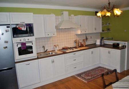 Biała klasyczna kuchnia od Meble Format Lublin