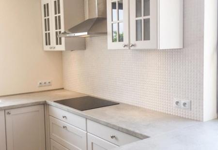 Biała Kuchnia Wykonana W Domu Jednorodzinnym W Katowicach