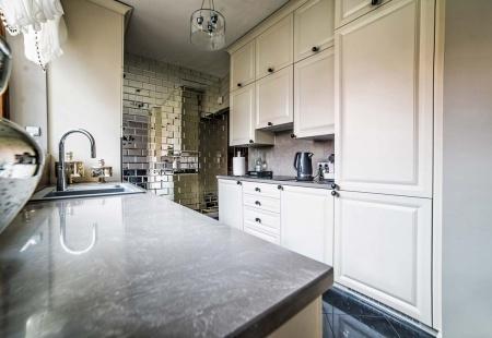 Designerska aranżacja wnętrza kuchni w Niemczu