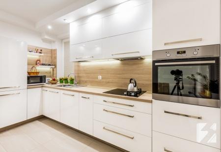 Kuchnia na wymiar w stylu minimalistycznym od 3TOP Meble