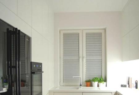 Kuchnia cała na biało od Nataly Design