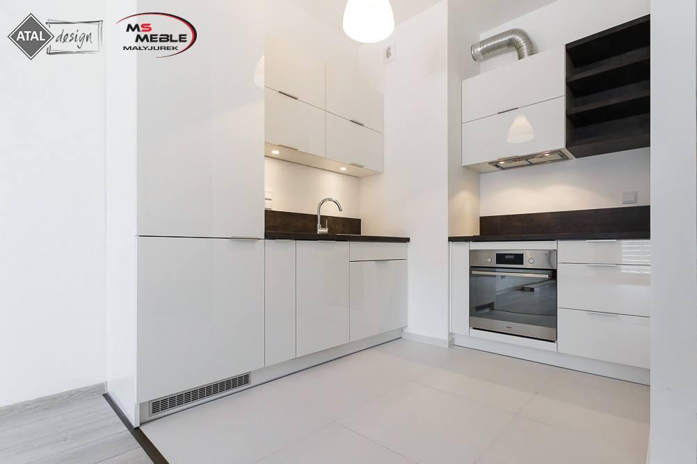 Meble kuchenne  Biała kuchnia Atal Francuska Park   -> Kuchnia Otwarta Katowice Menu
